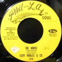 7 / CLIFF NOBLES & CO. / THE HORSE / LOVE IS ALL RIGHT