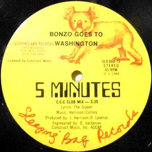 12 / BONZO GOES TO WASHINGTON / 5 MINUTES