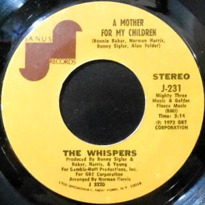 7 / WHISPERS / A MOTHER FOR MY CHILDREN / WHAT MORE CAN A GIRL ASK FOR