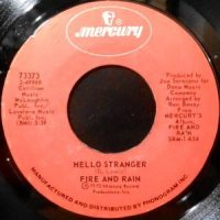 7 / FIRE AND RAIN / HELLO STRANGER / SOMEBODY TO LOVE