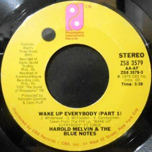 7 / HAROLD MELVIN & THE BLUE NOTES / WAKE UP EVERYBODY (PART 1) / (PART 2)