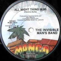 12 / THE INVISIBLE MAN'S BAND / ALL NIGHT THING / (INSTRUMENTAL)
