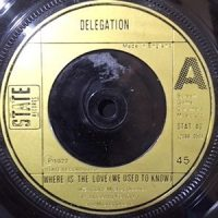 7 / DELEGATION / WHERE IS THE LOVE / BACK DOOR LOVE