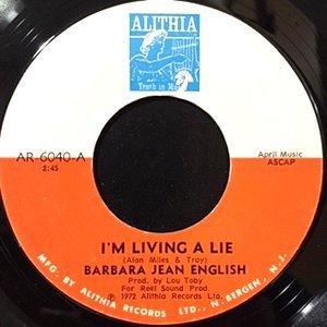 7 / BARBARA JEAN ENGLISH / I'M LIVING A LIE / ALL THIS