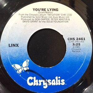 7 / LINX / YOU'RE LYING / (INSTRUMENTAL)