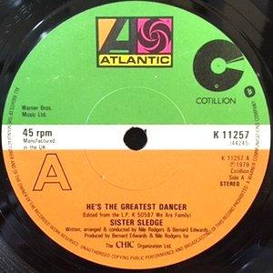 7 / SISTER SLEDGE / HE'S THE GREATEST DANCER