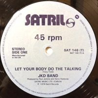 12 / JKD BAND / LET YOU BODY DO THE TALKING / MELLOW TERRAIN