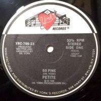 12 / PETITE / SO FINE