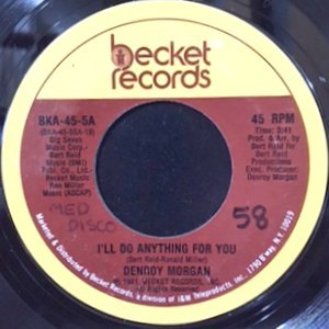 7 / DENROY MORGAN / I'LL DO ANYTHING FOR YOU / (INSTRUMENTAL)