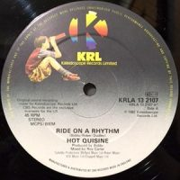 12 / HOT QUISINE / RIDE ON A RHYTHM / LIVE MY LIFE
