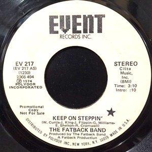 7 / FATBACK BAND / KEEP ON STEPPIN'