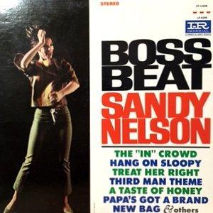 LP / SANDY NELSON / BOSS BEAT
