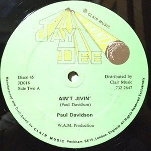 12 / PAUL DAVIDSON / AIN'T JIVIN'