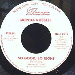7 / BRENDA RUSSELL / SO GOOD, SO RIGHT