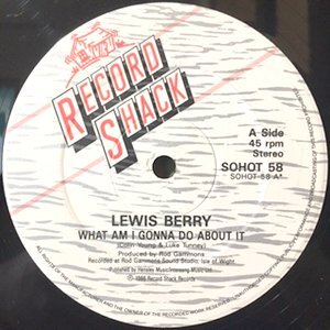 12 / LEWIS BERRY / WHAT AM I GONNA DO ABOUT IT / WITHOUT LOVE