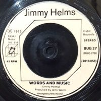 7 / JIMMY HELMS / WORDS AND MUSIC