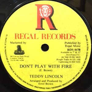 7 / TEDDY LINCOLN / SEVENTEEN / DON'T PLAY WITH FIRE