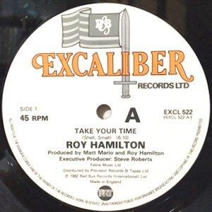 12 / ROY HAMILTON / TAKE YOUR TIME / (THE ULTIMATE MIXX)