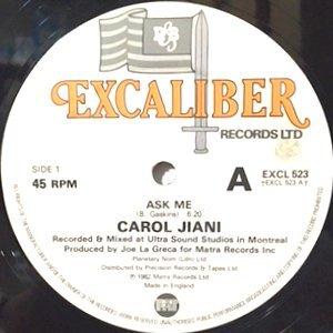 12 / CAROL JIANI / ASK ME / KICKING THE HABIT