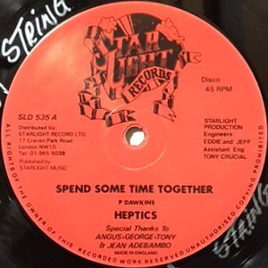 12 / HEPTICS / SPEND SOME TIME TOGETHER