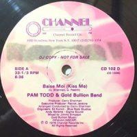 12 / PAM TODD & GOLD BULLION BAND / BAISE MOI (KISS ME)