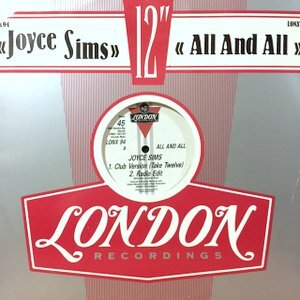 12 / JOYCE SIMS / ALL AND ALL