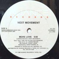 12 / NEXT MOVEMENT / MORE LOVE