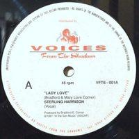 12 / STERLING HARRISON / LADY LOVE / (INSTRUMENTAL)