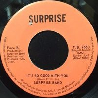 7 / SURPRISE BAND / IT'S SO GOOD WITH YOU / DISCO CONGA