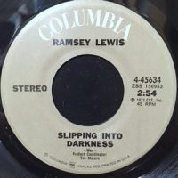 7 / RAMSEY LEWIS / SLIPPING INTO DARKNESS / COLLAGE