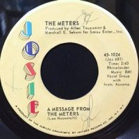 7 / METERS / A MESSAGE FROM THE METERS / ZONY MASH