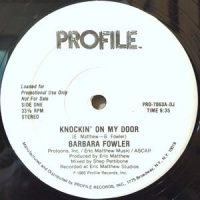 12 / BARBARA FOWLER / KNOCKIN' ON MY DOOR / (DUB)