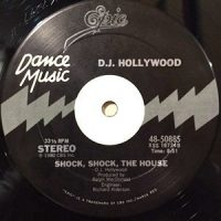 12 / D.J. HOLLYWOOD / SHOCK, SHOCK, THE HOUSE / (INSTRUMENTAL)