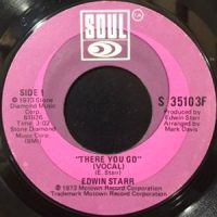 7 / EDWIN STARR / THERE YOU GO / (INSTRUMENTAL)