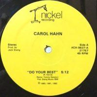 12 / CAROL HAHN / DO YOUR BEST