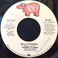 7 / YVONNE ELLIMAN / HELLO STRANGER