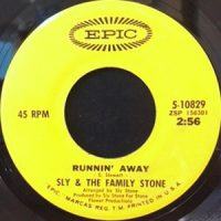 7 / SLY & THE FAMILY STONE / RUNNIN' AWAY / BRAVE & STRONG